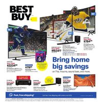 Best Buy - Weekly - Bring Home Big Savings Flyer