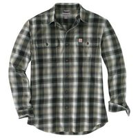 Carhartt Hubbard Flannel Long-Sleeve Shirt