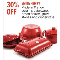 Emile Henry Ceramic Bakeware, Bread Bakers, Pizza Stones And Dinnerware