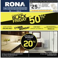Rona - Weekly - Canadian Black Friday Flyer