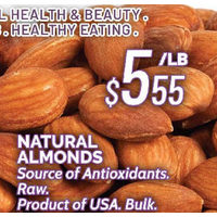 Natural Almonds