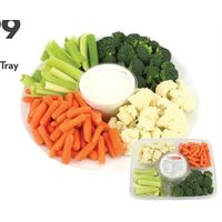 Longo's Veggie Tray With Ranch Dip