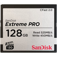 SanDisk Extreme Pro Cfast 2.0 Card - 128GB