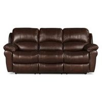 89'' Kobe Genuine Leather Reclining Sofa