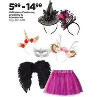 Halloween Costumes, Jewellery & Accessories