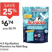 4.5-Kg Alsakan Premium Ice Melt Bag