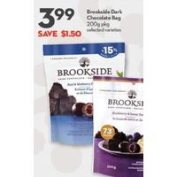 Brookside Dark Chocolate Bag