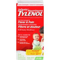 Tylenol, Advil or Benylin Children's Pain or Cold Suspension, Tylenol Infant Drops, Benylin Cold Syrup or Tylenol Cold Tabs