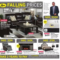Leon's - Falling Prices Flyer