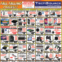 Tech Source - Fall Falling Prices!! Flyer