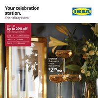 IKEA - The Holiday Event Flyer