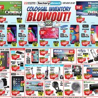 - Colossal Inventory Blowout! Flyer