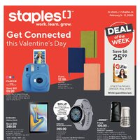 - Weekly - Get Connected This Valentine's Day Flyer