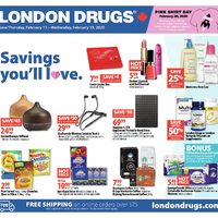 London Drugs - 6 Days of Savings - Savings You'll Love. Flyer