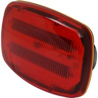 Power Fist 6 In. LED Magnetic Safety Light - Red