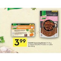 Knorr Seasoning Blends Or Selects Bouillon Powder Or Cubes
