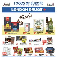 London Drugs - Foods Of Europe Flyer