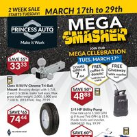 - 2 Weeks of Savings - Mega Smasher Flyer