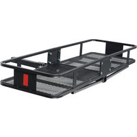 Towing Master 60 x 20 in. 750 lb Steel Hitch-Mount Cargo Carrier