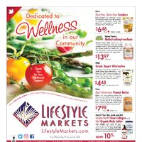 Lifestyle Markets - Monthly Specials - Dedicated To Wellness Flyer