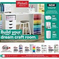 Michaels - Build Your Dream Craft Room Flyer