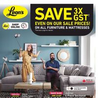 Leon's - 2 Weeks of Savings - Save 3X GST Flyer