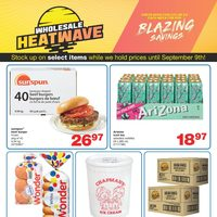 Wholesale Club - Blazing Savings Flyer