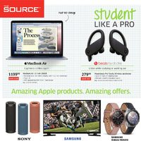 The Source - Weekly - Student Like A Pro Flyer