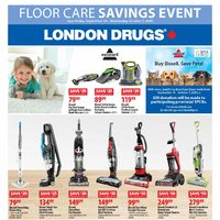 London Drugs - Floor Care Savings Event Flyer
