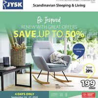 JYSK - Weekly - Be Inspired Flyer