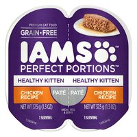 Whiskas Perfect Portions and Iams Perfect Portions Cat Food