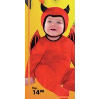 Baby Cute as a Devil Costume 6-12M