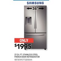 Samsung 27 Cu. Ft. Stainless Steel French Door Refrigerator
