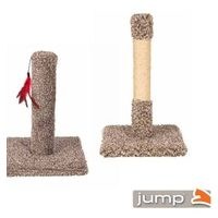 Jump & Urban Cat Scratching Post With Toy and Decorator Post