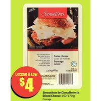 Sensations By Compliments Sliced Cheese