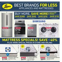 Leon's - Best Brands For Less Flyer