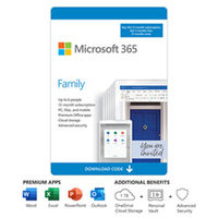 Microsoft 365 Family 15- Month-Billingual  (Download)