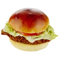 Crispy Chicken Sandwich With Small Fries or Wedges