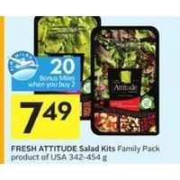 Fresh Attitude Salad Kits