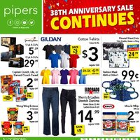 Pipers - Weekly - 38th Anniversary Sale Flyer