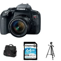 Canon EOS Rebel T71 Digital SLR Camera Kit Bundle