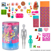 Barbie Color Reveal Slumber Party Fun Doll and Accessories