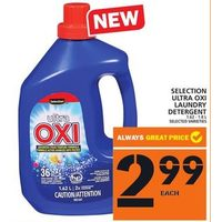 Selection Ultra Oxi Laundry Detergent
