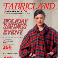 - Member Sale - Holiday Savings Event Flyer