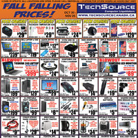 - Fall Falling Prices! Flyer