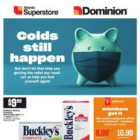 Dominion - Colds Still Happen Flyer