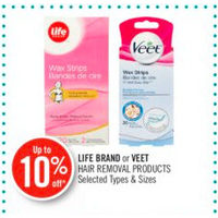 Life Brand Or Veet Hair Removal Products