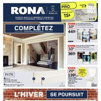 Rona - Weekly Deals - Winter Continues Flyer