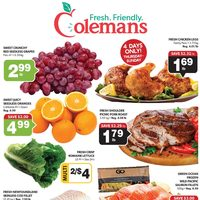Colemans - Weekly Specials Flyer