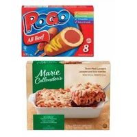 Marie Callender's Frozen Entrees or Pogo